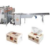 Máquina de embalagem macia automática do papel de tecido do bloco
