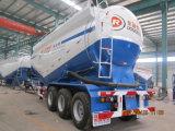 навальный цемента 55cbm топливозаправщика тележки трейлер Semi тавром Hubei Dongrun