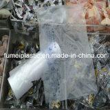 100%の生物分解性の浮彫りになる印刷されたプラスチックフリーザー袋