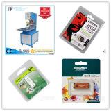 Tarjeta de papel, empaquetadora de la ampolla doble, certificación estable del Ce del funcionamiento