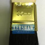 ラジエーターBrush (long&shortのポプラのハンドルが付いている絵筆の純粋で自然で黒い剛毛は、カラーフェルールをgooden)