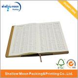Cuaderno de cuero del papel de cubierta de la PU de la dirección de la Internet de seda (QY150323)