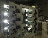 Máquina de impresión flexográfica con troqueladora / laminación / Función Vanish / de corte longitudinal / Calor Sellado