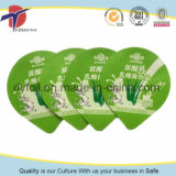 Productos lácteos etiquetas de papel de aluminio