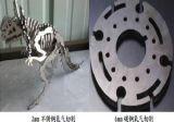 Cnc-vorzügliche Faser-Laser-Ausschnitt-Maschine für Fluss-Stahl und Edelstahl