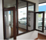 Schönes doppeltes glasig-glänzendes Aluminumswing /Aluminium Windows