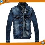 OEM van de fabriek Laag Jean Outwear Jacket van het Jasje van het Denim van Mensen de Toevallige
