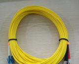 Sc passato di 3D Test Highquality Telecommunication Level a LC Duplex Simplex Fiber Patch Cords/G657A1 Patch Cords