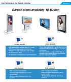 70 polegadas IP65 impermeável LCD ao ar livre grande que anunciam a tevê da tela (MW-70ODSP)
