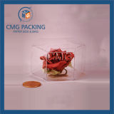Caja de embalaje del caramelo transparente de lujo del diseño (CMG-PVC-016)