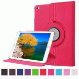 Litschi Grain Rotation Flip Auto Sleep Tablet Fall für iPad