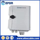 Divisor do PLC da caixa 1*8 de Disturition da fibra óptica da rede de Fdb FTTX