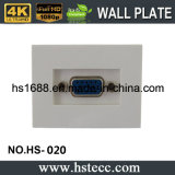 Горячий продавая поставщик гнезда плиты стены модуля VGA 55*36mm