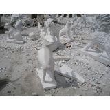 Natürlicher Granit und Marmor-Steinabbildungs-und Tier-Statue/Skulptur für Garten und im Freiendekoration (XJL-SS004565)