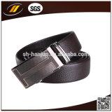 Cinghia dell'uomo dell'inarcamento del nero del cuoio della parte superiore di alta qualità dell'OEM degli uomini automatici della cinghia (HJ3102)