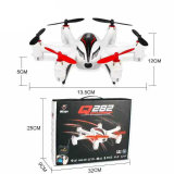 2.4G 4CH RC Quadcopter mit HD Camera, Lights u. Gyroscope 6-Axis RC Drone UFO