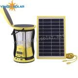 Linterna de camping de energía solar portátil para uso doméstico, al aire libre