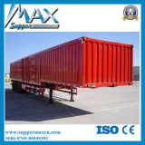 cargo a granel Transportion Van Semi Trailer del carro de remolque 6X4