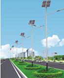 5m Pole Solarstraßenlaternemit 20W LED Birne