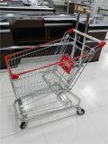 Carrello di acquisto americano del supermercato di capienza di stile 125L