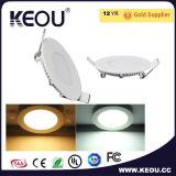 Lampe de la lumière de panneau de plafond de la lumière de panneau de plafond de la lampe DEL de plafond de DEL