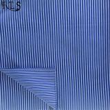 셔츠 복장 Rls40-12po를 위한 100%년 면 포플린 길쌈된 털실에 의하여 염색되는 직물