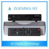 Combo DVB de récepteur de TV satellite de Zgemma S2 + support Hevc/H. 265 de DVB T2/C