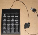 Кнопочная панель свободно портативного компьютера USB клавиатуры компьютера переключателя внешнего численная