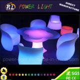 Mobília leve colorida do jardim do diodo emissor de luz do clube de noite da decoração do evento
