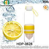 600ml方法ガラスフルーツのInfuserの水差し、BPAは放すガラス水差し(HDP-0628)を