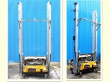 Equipamento automático concreto da máquina da rendição do cimento