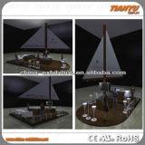 Cabina di spruzzo di alluminio della barca da vendere