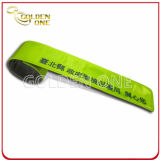 Wristband de encargo de la palmada del PVC de la historieta del precio directo de la fábrica