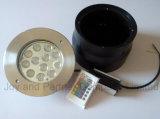 12W RGB LED 지하 빛 (JP824123)
