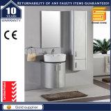 Glanz-silberner Lack-Badezimmer-Speicher-Schrank