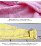 Быстро сухие полотенца чистки Microfiber волос хлопка