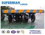 10t Flatbed Aanhangwagen van de Trekbalk van het Vervoer van de Lading Industriële