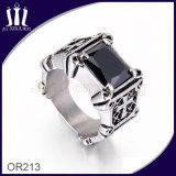 Titanium кольцо диаманта Jewellery креста сбор винограда 316L