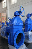 Дуктильная запорная заслонка утюга Pn16/10 с ISO Wras Ce одобрила (Z45X-16Q)