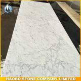Bancada de mármore branca do banheiro de Haobo Bianco Carrara