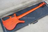 Нот Hanhai/померанцовая электрическая басовая гитара 5-String с чёрным деревом Fretboard