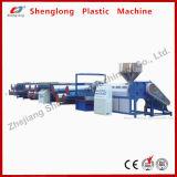 Tessile di riciclaggio di plastica della macchina che ricicla macchina