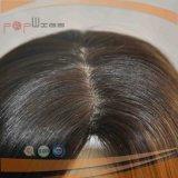 주문 사람의 모발 피스 머리 매끄러운 똑바른 자연적인 색깔