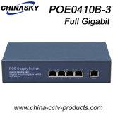 4つのポート1ギガビットのアップリンク(POE0410B-3)の完全なギガビットPoeスイッチ