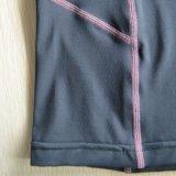 Deportes de la compresión de las capas bajas de las mujeres que funcionan con la camisa