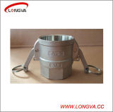 Steel inoxidable Camlock Quick Couplings Type a, B, C, D, E, F, C.C, DP