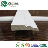 Moulage décoratif amorcé par Gesso blanc matériel en bois