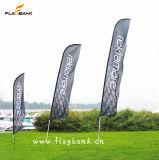 Bandierina della piuma di pubblicità esterna/bandiera portatili medie di volo