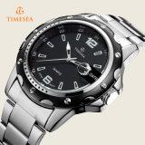 Vigilanza all'ingrosso 72336 del calendario della manopola dell'acciaio inossidabile dell'orologio