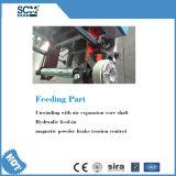 Flachbettfaltenund Ausschnitt-Maschine für Papierkasten u. gewölbten Karton